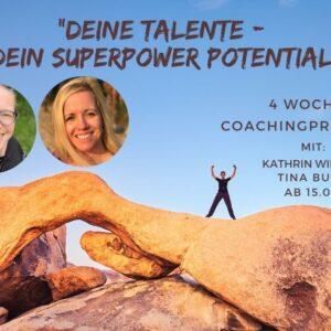 Deine Talente – dein Superpower Potential ab 02.09.