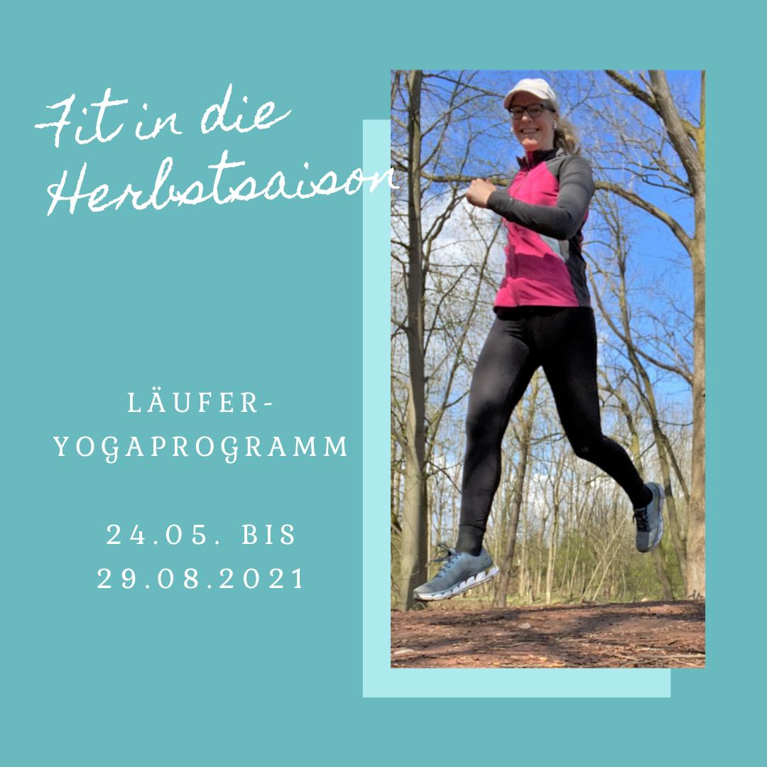 Läufer Yogaprogramm – Fit in die Herbstsaison