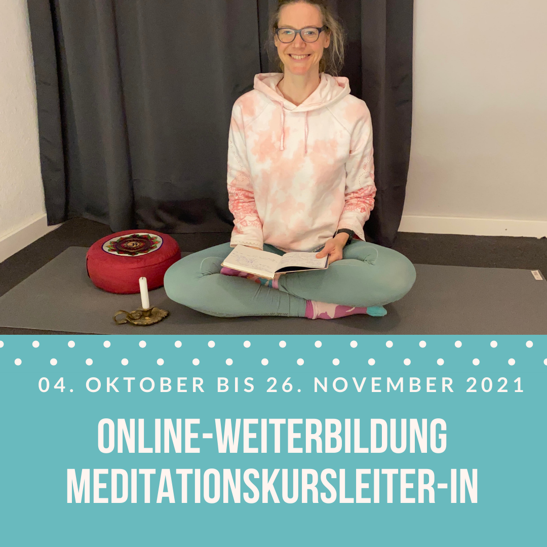 Online-Weiterbildung Meditationskursleiter-in