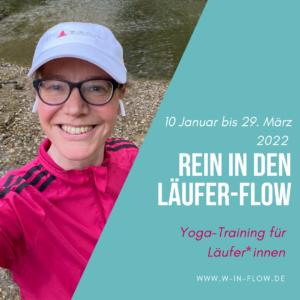 """Läufer-Yogatraining """"Rein in den Läufer-Flow"""" – 10.01. bis 31.03.2022"""