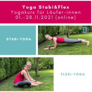 Yoga Stabi&Flex für Läufer 01.-28.11.2021 (online)
