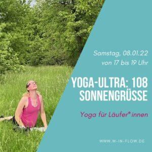 Yoga-Ultra (online): 108 Sonnengrüße – 08.01.22