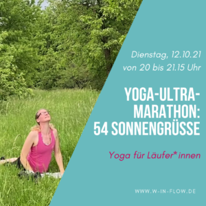 Yoga-Marathon (online): 54 Sonnengrüße – 12.10.21